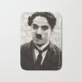 Charlie Chaplin, Compedy Legend Bath Mat