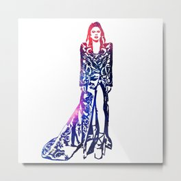 Ziggy Lady Metal Print