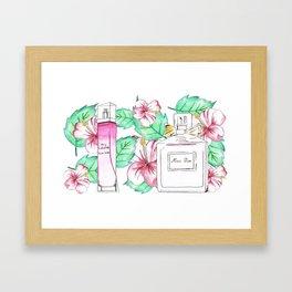 Perfumes Series 4 Framed Art Print