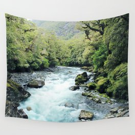 New Zealand river Wall Tapestry