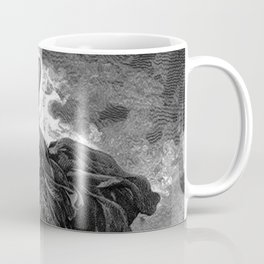 Moses Smashing the Tables of the Law - Dore Coffee Mug