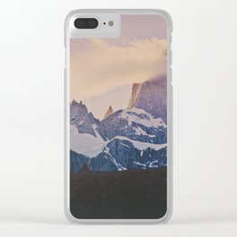 Into the Clouds (El Fitz Roy, Patagonia, Argentina) Clear iPhone Case
