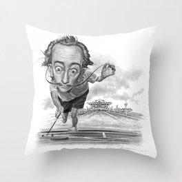 """""""Salvador Shuffle"""" Throw Pillow"""