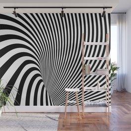 Modern Minimalist Zebra Wall Mural