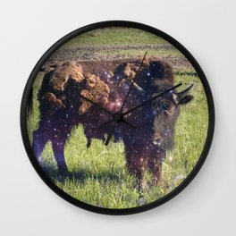 Cosmic Young Bull Wall Clock