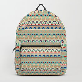 Ethnic ornament , 12 Backpack