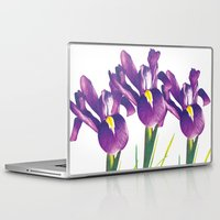 iris Laptop & iPad Skins featuring Iris by Matt McVeigh