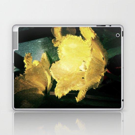 yellow tulip  Laptop & iPad Skin