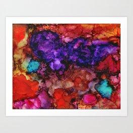 Nebula Dreams Art Print