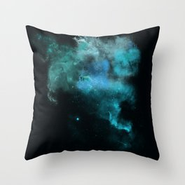 a cold nebula Throw Pillow