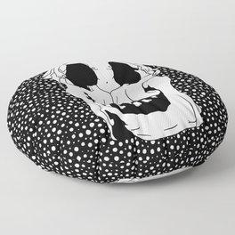 Salvador Dalí - Skull Floor Pillow