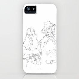 Mapplethorpe x Smith iPhone Case