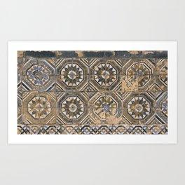 Old Spanish Tiles Art Print