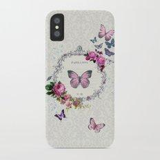 Papillons Slim Case iPhone X