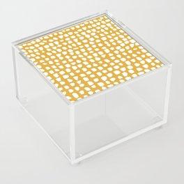 Dots / Mustard Acrylic Box