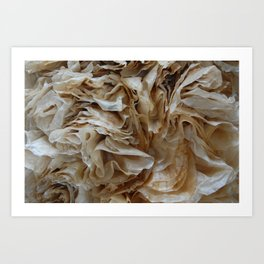 Filter Out Bad Chi - Coffee Filter Art Print Art Print