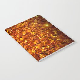 Copper Sparkle Notebook