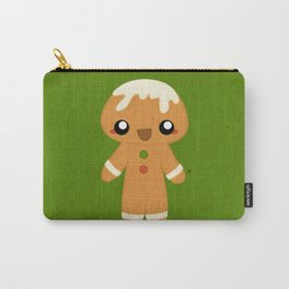 Christmas Card - Gingerbread Kid Carry-All Pouch
