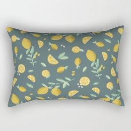7th Lemon Rectangular Pillow