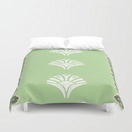 S6 Abbey Chic Classique Pattern (green) Duvet Cover