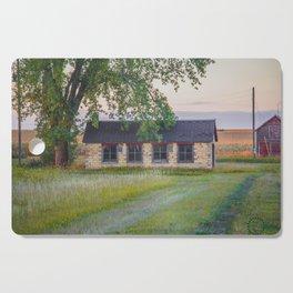 Curious Farmstead, North Dakota 6 Cutting Board