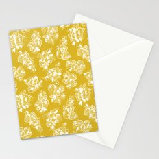 Mustard Floral Stationery Cards