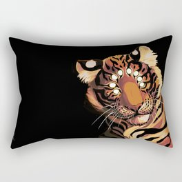 Do Not Give In to Despair (orange burn) Rectangular Pillow