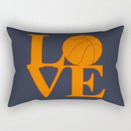 Love Basketball Rectangular Pillow