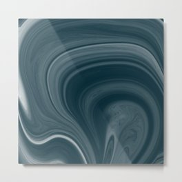 Marble Abstract 9 Metal Print