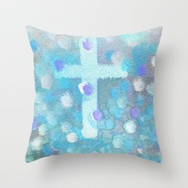 Sweetness Of The Cross Throw Pillow