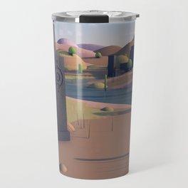 Totem Landscape Travel Mug