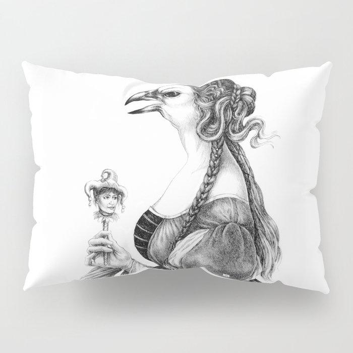 Tête-à-tête with Botticelli Pillow Sham