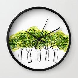 Thinking of Thoreau Wall Clock