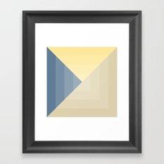 blueberry muffin Framed Art Print