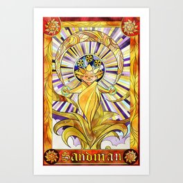 Of Dreams and Sand Art Print