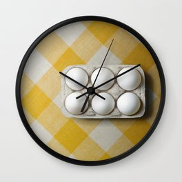 Six of one half a dozen of another. Wall Clock