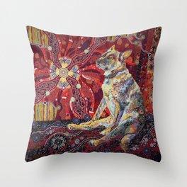 Dixie Dingo Throw Pillow