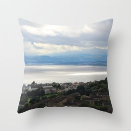 Sun on the Water Throw Pillow