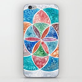 Watercolor Mandala iPhone Skin