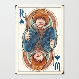 RW card Canvas Print