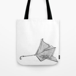 broken umbrella Tote Bag