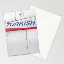 Turkish Air force Logo Stationery Cards