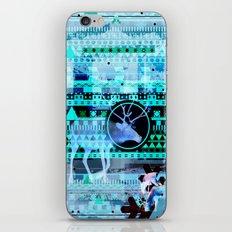 Christmas Reindeer Collage iPhone & iPod Skin