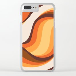Cosmic Sand Clear iPhone Case