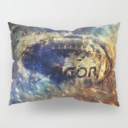Abstract american football Pillow Sham