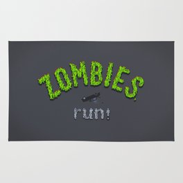 ZOMBIES, run! Rug