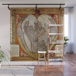 Heart of the World Wall Mural