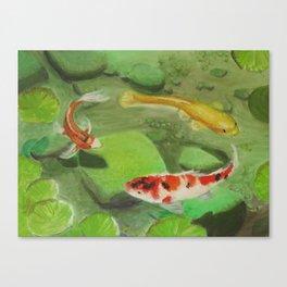 3 Koi Canvas Print