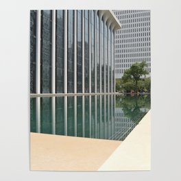 Reflecting Poster