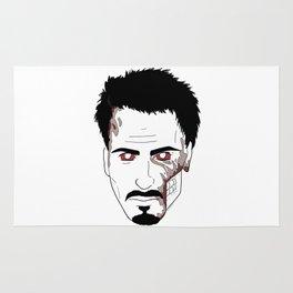 Zombie Robert Downey Jr. Rug